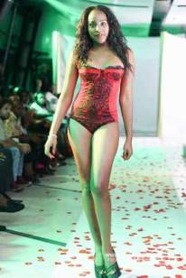 PLANS IN TOP GEAR, FOR FERON LINGERIE FASHION SHOW 2017