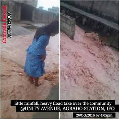 UNITY AVENUE CDA AGBADO, CRIES OUT TO OGUN STATE GOVERNMENT