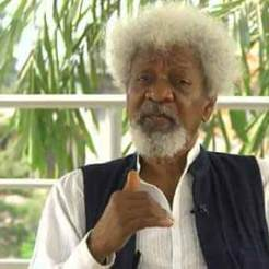 Wole Soyinka, I will tear my Green Card if...responds to Internet habituees
