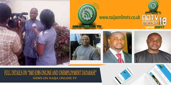 """FULL DETAILS ON """"IMO JOBS ONLINE AND UNEMPLOYMENT DATABASE"""""""