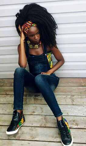 MEET AFRICAN FASHION MODEL, RITA JALLOH