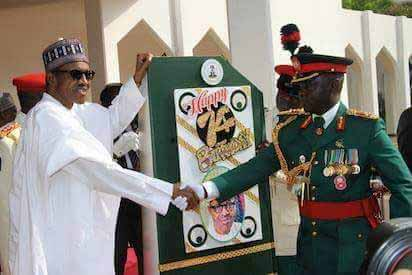 President Buhari Celebrates Birthday With Military Parade
