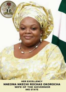 PRESIDENT BUHARI FELICITATES WITH IMO FIRST LADY ON HER BIRTHDAY