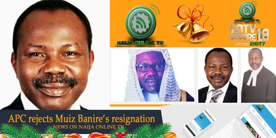 APC rejects Muiz Banire's resignation