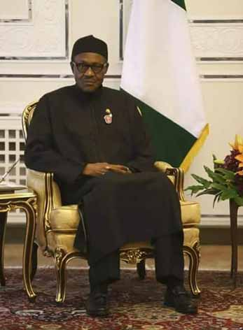 NO LONGER BUSINESS AS USUAL IN NIGERIA - PRESIDENT BUHARI