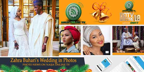 Zahra Buhari's Wedding