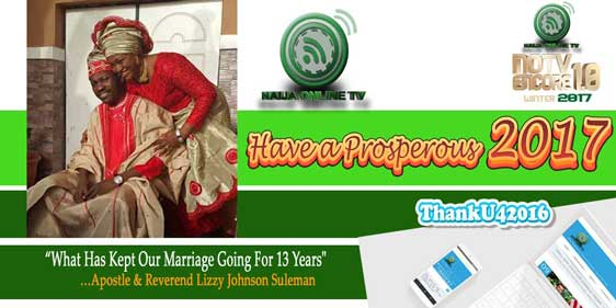…Apostle & Reverend Lizzy Johnson Suleman