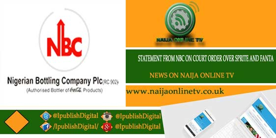 STATEMENT FROM NBC ON COURT ORDER OVER SPRITE AND FANTA