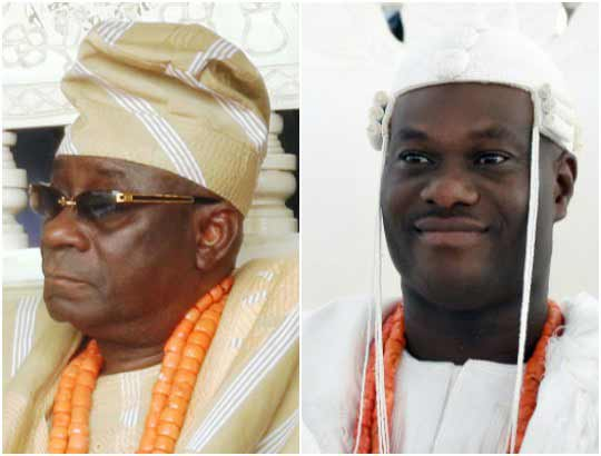 Outrage as Oba of Lagos humiliates Ooni of Ife