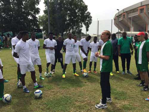 Rohr calls Mikel, Musa, 22 others for Algeria, Argentina