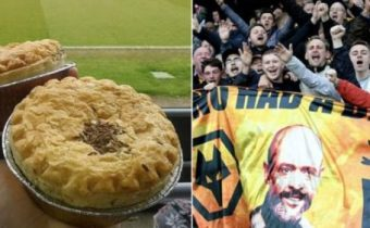 Wolves Fan Given Three-Year Ban For Throwing Pie At West Ham Fan