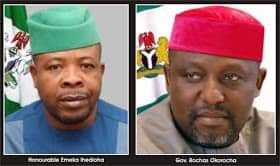 Okorocha Reacts As Gov-elect Ihedioha Asks Banks To Reveal Dealings With Imo Govt.