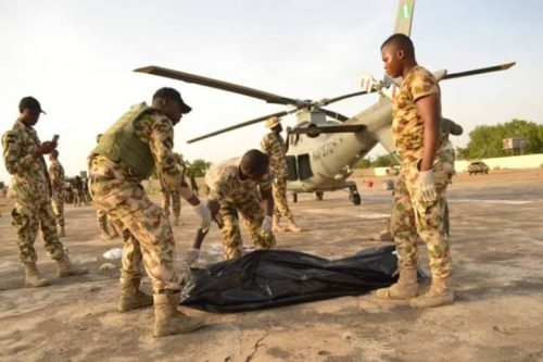 Helicopter Blades Chop Off Air Marshall's Head In Borno