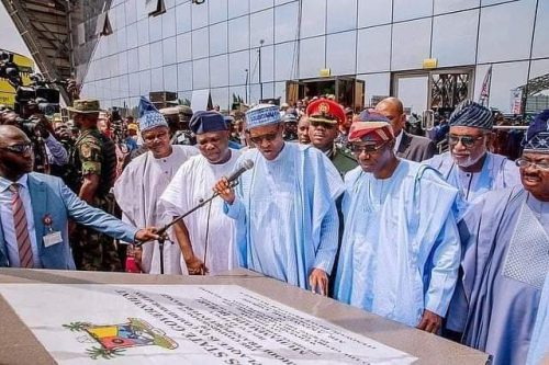 Did Tinubu Deliberately Stay Away As Buhari Commissioned Projects Done By Ambode's Govt?