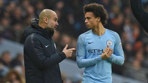 Benchwarmer Sane may have to escape Pep to save career