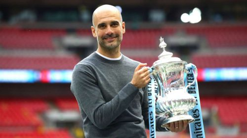 Guardiola: Man City treble feat harder than Champions League but can be repeated