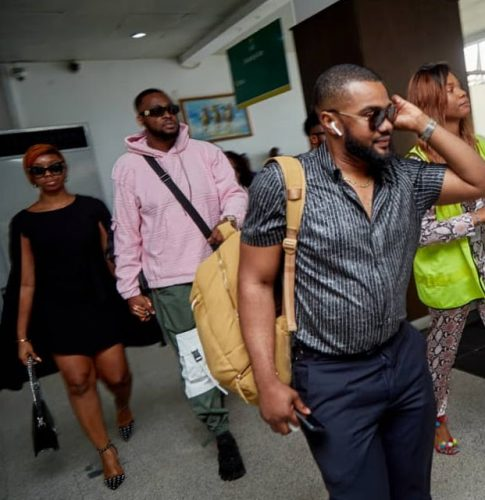 Actress BamBam Steps Out With Teddy A To Meet And Greet His Fans At Sapphirescents 4th Anniversary