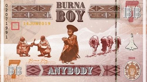 Download mp3: Burnaboy Anybody