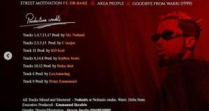 DOWNLOAD: Erigga – Street Motivation ft. Dr Barz (Live Session)