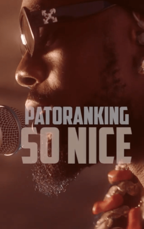 DOWNLOAD AUDIO: Patoranking – So Nice (Acoustic)