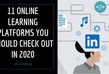 11 Online Learning Platforms You should Check Out in 2020 3