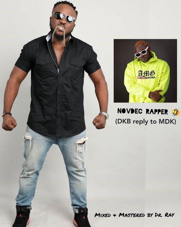 DOWNLOAD MP3: DKB – NovDec Rapper (Medikal Diss)