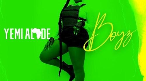DOWNLOAD MP3: Yemi Alade – Boyz (Prod. by Vtek)