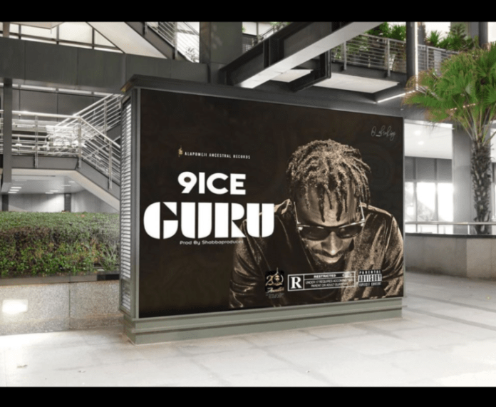 DOWNLOAD MP3: 9ice – Guru