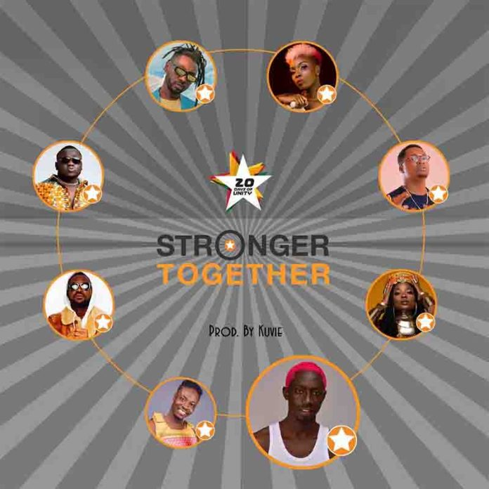 DOWNLOAD MP3: Jumia Ghana - Stronger Together ft All Stars
