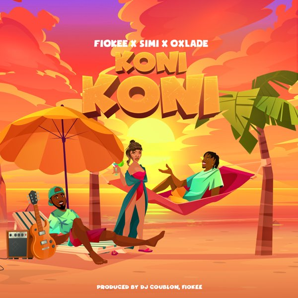DOWNLOAD MP3: Fiokee ft. Simi x Oxlade – Koni Koni