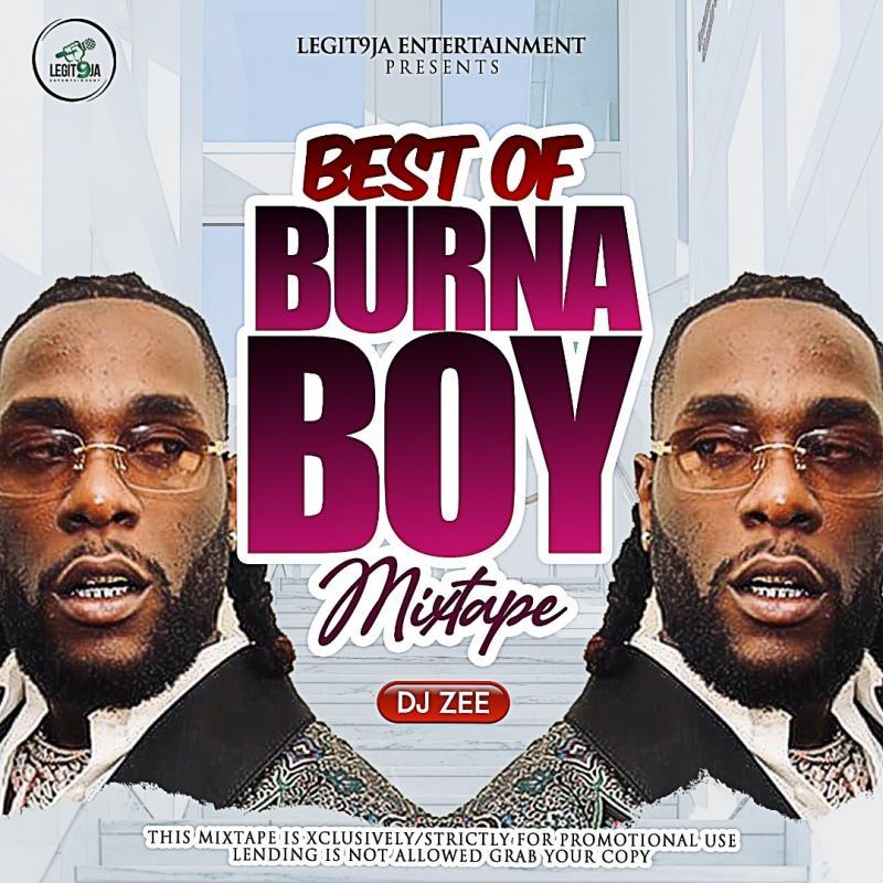 MIXTAPE: DJ Zee – Best Of Burna Boy 2021 Mix