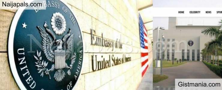 us embassy - Dangerous White Powder Mailed With a Passport Led To Closure Of USA Embassy In Abuja