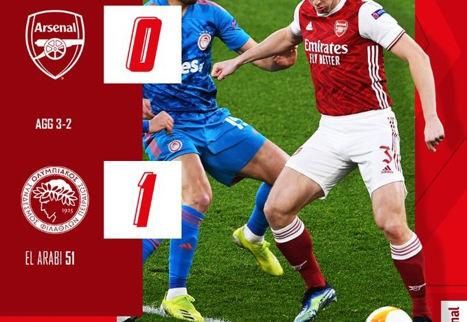 Arsenal vs Olympiacos Piraeus 0-1 – Highlights [FAST DOWNLOAD]