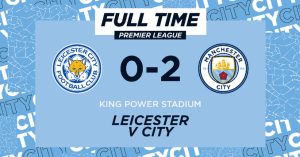 Leicester vs Manchester City 0-2 – Highlights [FAST DOWNLOAD]