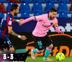 Levante vs Barcelona 3-3 – Highlights [DOWNLOAD VIDEO]