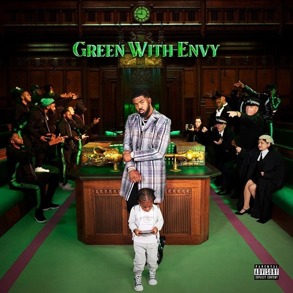 Tion Wayne Green With Envy Art