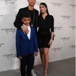 Adorable Family Photo Of Cristiano Ronaldo, His Wife And Son