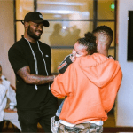 See This Photo Wizkid's Son, Zion All Swag Up, Steps Out In Style