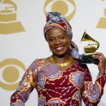 Watch The Moment The Grammy Winner, Angelique Kidjo Was Spotted Speaking Yoruba With ASA In Lagos (Video)