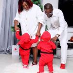 Funke Akindele Finally Reveals The Face Of Her Lovely Twins (Photos)