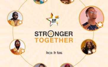 Efya, Yaa Pono, Bosom Pyung, Kojo Cue, Fancy Gadam, CJ Biggerman, Pappy Kojo, Feli Nuna - Stronger Together Mp3 Audio Download