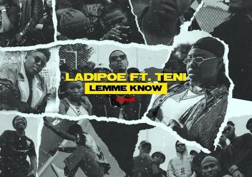 LadiPoe Ft. Teni - Lemme Know (Remix) Mp3 Audio Download