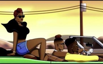 VIDEO: Krizbeatz - Pamela Ft. Mr Eazi, Vanessa Mdee (Visualizer) Mp4 Download