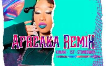 Victoria Kimani & FKI 1st - Afreaka (Remix) Ft. Stonebwoy Mp3 Audio Download