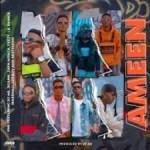YNS – Ameen Ft. DJ Ab, Jigsaw, Lil Prince, Feezy, Zayn Africa, Geeboy, Marshall & Bestkiddo