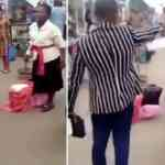 Funny!!! 2 Nigerian Preachers fight over preaching space at Ikeja, Lagos(video)