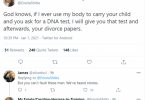 ?If my husband asks for DNA test after giving birth, I