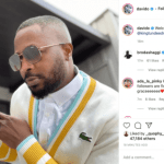 'Welcome Back Tunde Ednut'- Davido Celebrated Tunde Ednut After He Bounced Back On IG