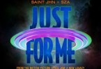 SAINt JHN – Just For Me (Space Jam: A New Legacy) Ft. SZA