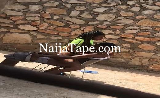 Naija Lover Caught Fucking Outdoor Video